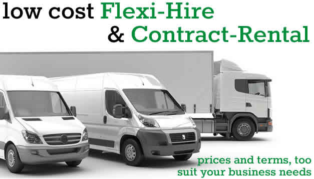 Low cost Flexi-Hire and Contract-Rental Vehicles from GBV Rentals