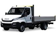 7500kg GVW Day-Cab Chassis Box Van with Tail-lift Hire